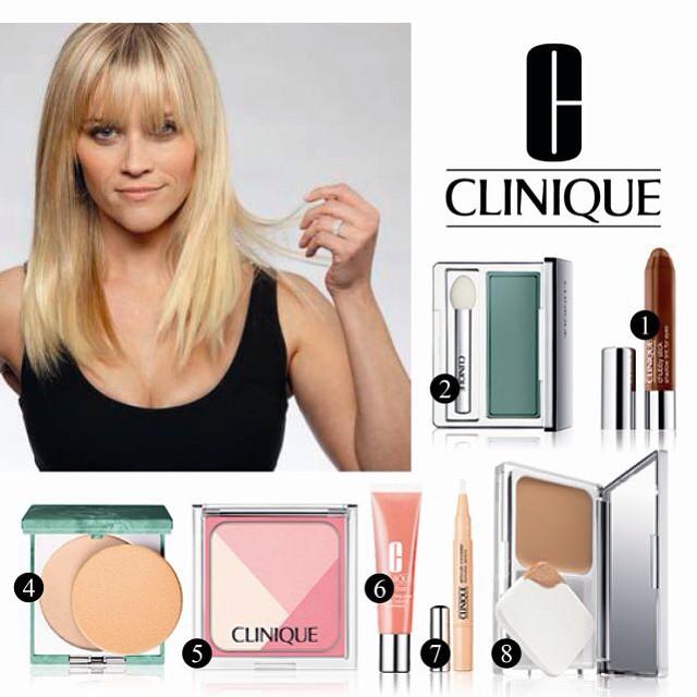 Hoje no blog sugestões minhas @cliniqueportugal para Reese Witherspoon quem é fã dela e da #clinique? #beauty #blog #blogger