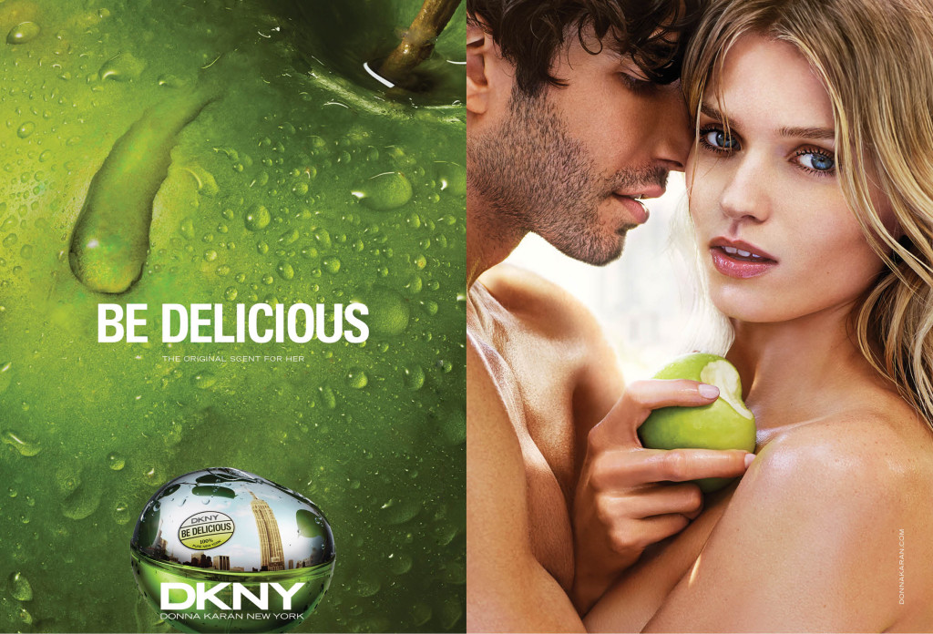 DKNY Be Delicious Campaign Image