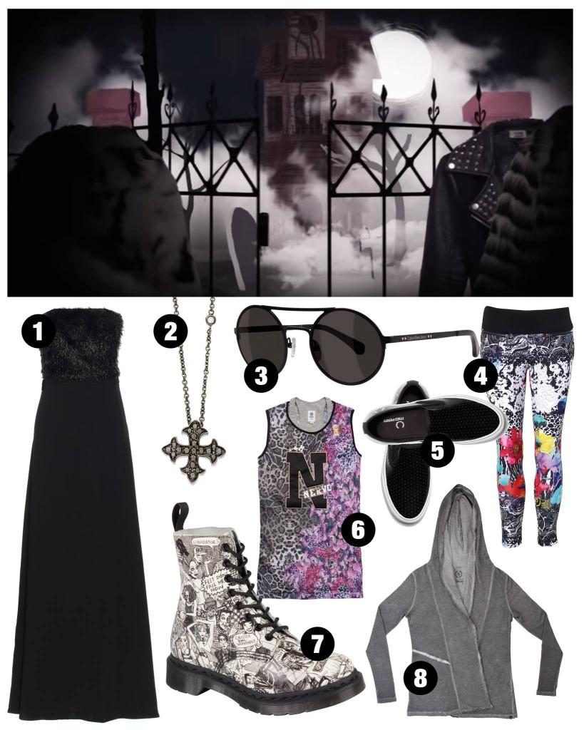 Halloween-moda